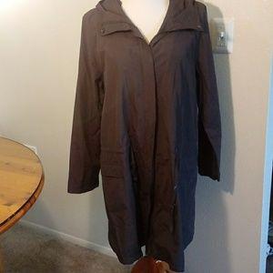 Eileen Fisher brown jacket size L